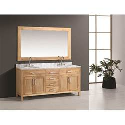 design element bathroom vanities design element 72 quot bathroom vanity set oak