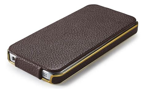 Iphone 55s Electroplating High Class icarer iphone 5 5s flip electroplating series genuine leather cover