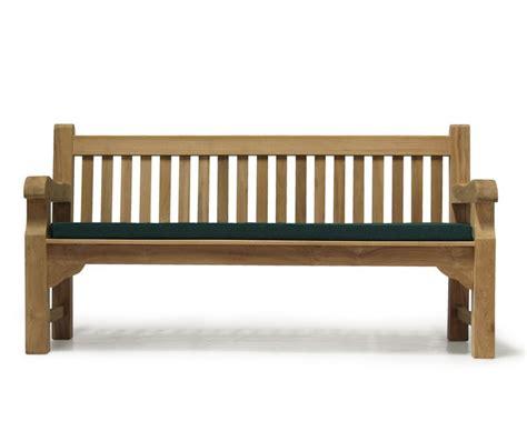 chunky teak bench balmoral traditional teak park bench classic chunky garden bench
