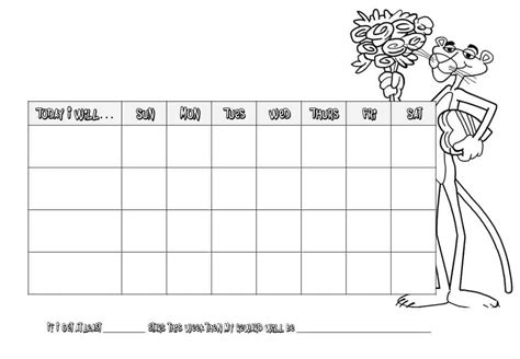 100 star chart template blank weekly star calendar 2017