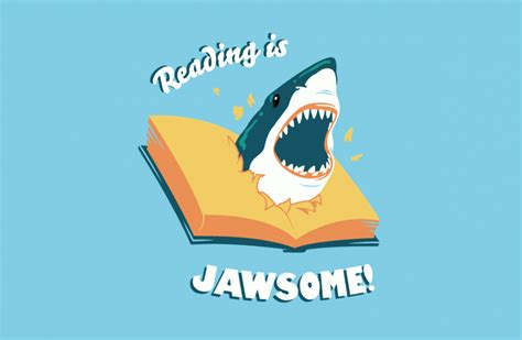 cool reading reading is jawsome by rye bread on deviantart