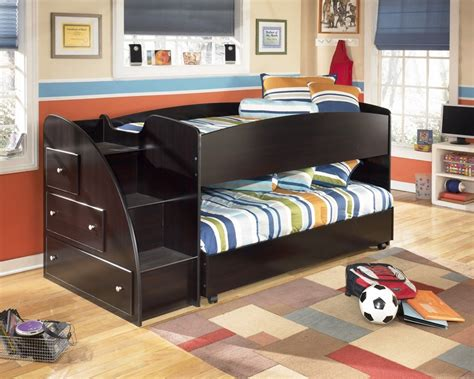 embrace loft bedroom set embrace youth left twin over twin loft bed from ashley