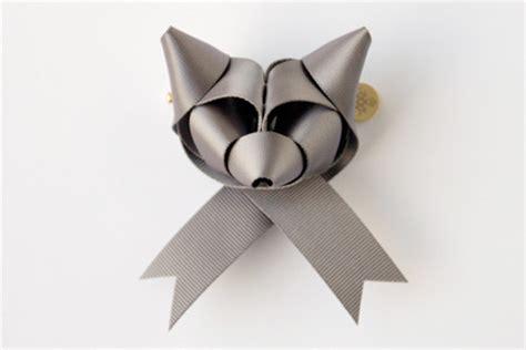how to make folded ribbon animals ribbon animals