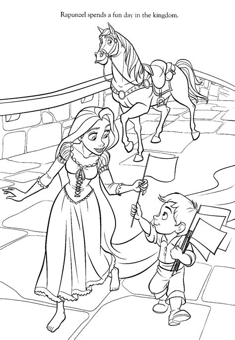 Tangled Coloring Pages Lanterns / dyrevelferd.info
