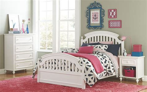youth white bedroom sets academy white youth panel bedroom set from legacy kids