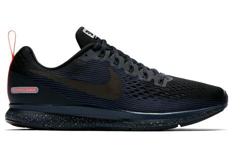 Nike Pegasus Black Blue nike air zoom pegasus 34 shield black blue alltricks de