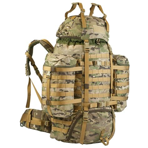 molle system wisport raccoon combat rucksack molle system