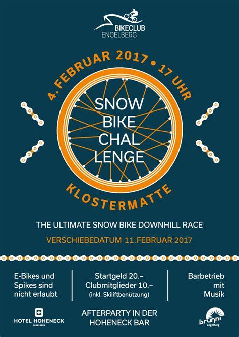 bikes challenge snow bike challenge engelberg engelberg snowbike