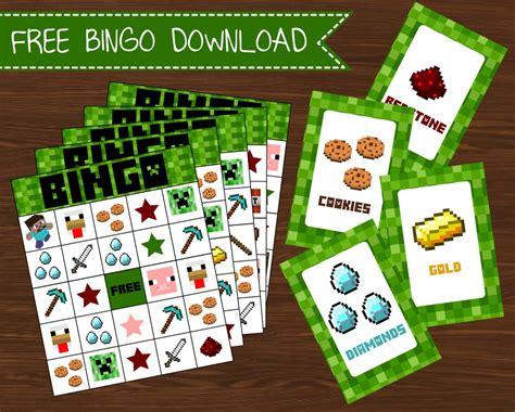 Minecraft Free Gift Card - minecraft bingo card memes