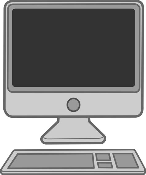 clipart pc computer clipart 101 clip