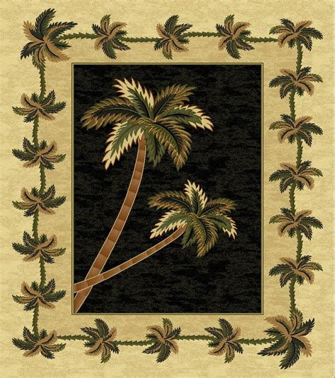 palm tree area rugs cheap black bahamas palm tree rug 2318 bahamas rugs