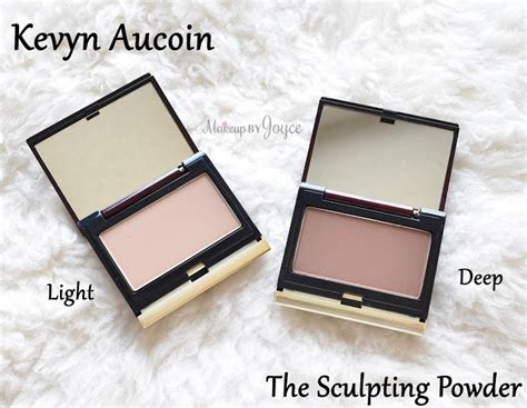 kevyn aucoin sculpting light makeupbyjoyce swatches comparisons matte