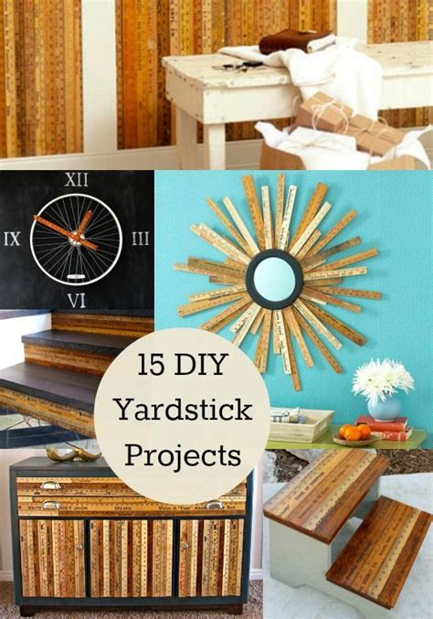 projects idea of ta home decor kitchen hangings with wall decor hacks 15 awesome diy yardstick projects diycandy
