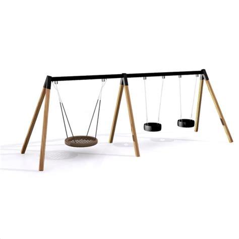 triple swing triple swing swings playground equipment lars laj 174 11185