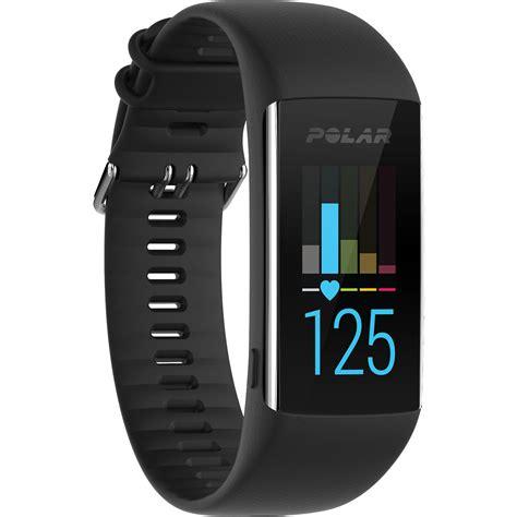 polar a370 fitness tracker medium large black 90064907 b h