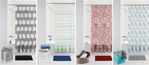 walgreens shower curtain walmart mainstays 14 piece bath sets just 5