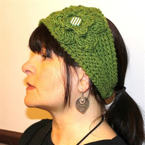 yarn headband pattern crochet pattern fast crochet headband kayla bulky weight