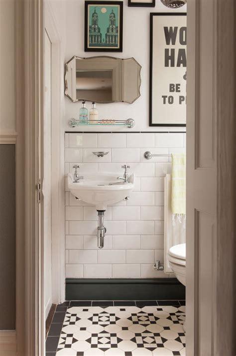black bathroom floor 31 retro black white bathroom floor tile ideas and pictures