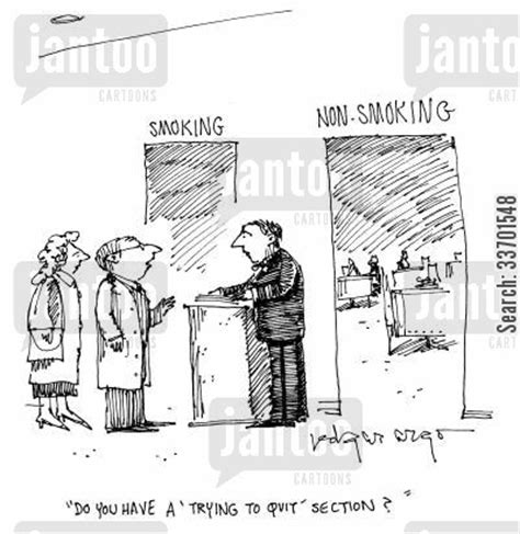 restaurants with smoking sections restaurant cartoons humor from jantoo cartoons