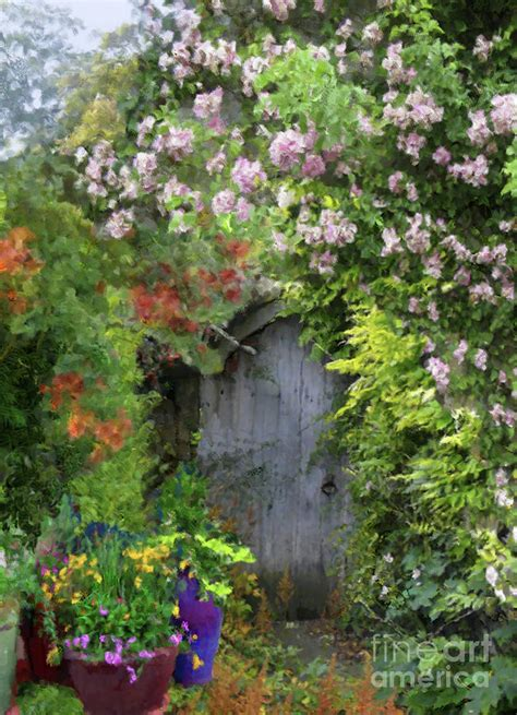Garden By Christine Secret Garden Painting By Christine Maclellan