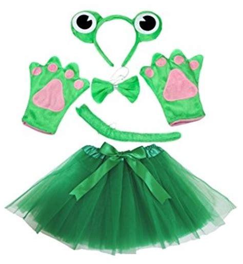 pasos para hacer un disfras de rana en papel crepe disfraz para ni 241 a rana diadema bowtie cola guantes verdes