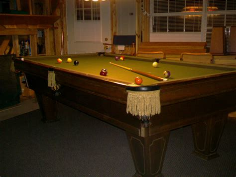 brunswick heirloom pool table brunswick heirloom
