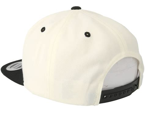 collective tattoo skull white black snapback collective caps
