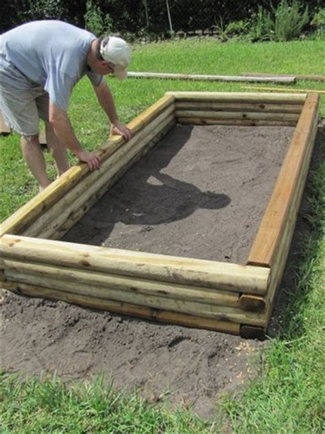 Landscape Timbers Images Landscape Timbers Raised Bed Newsonair Org