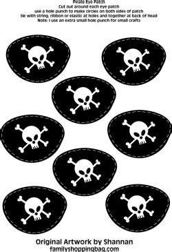 pirate eye patch template eye patches pirate decorations free printable