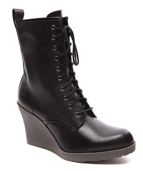 dr martens s marcie leather wedge boots designer