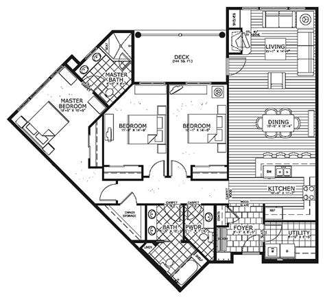 Condo Floor Plans Floorplans Finishes At Morning Star Condominium House Plans