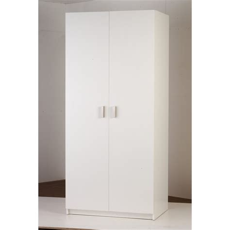 Bunnings Wardrobe Doors by Bedford 900mm White 2 Door Wardrobe Bunnings Warehouse