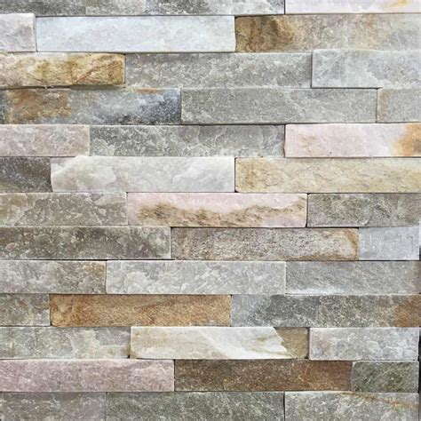 Cheap Ideas For Kitchen Backsplash oyster mini split face slate tile 10x40cm ceramic planet