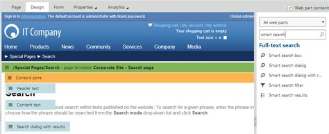 Smart Pages Lookup Adding Search Functionality To Pages Kentico 8 Documentation Kentico Documentation