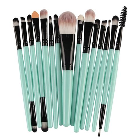 Toiletry Kit Brush Make Up 15 Set popular cheap makeup brush sets buy cheap cheap makeup