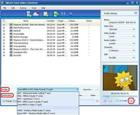tutorial any video converter xilisoft zune video converter tutorial guides you to