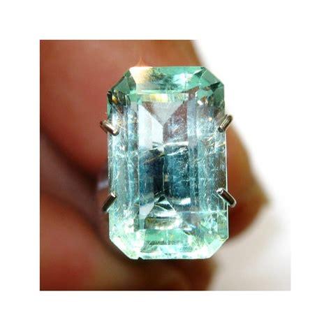 Emerald Zamrud Colombia Kolombia Ring Silver Memo Biglab ini zamrud kolombia rectangular 2 2 carat kualitas vvs