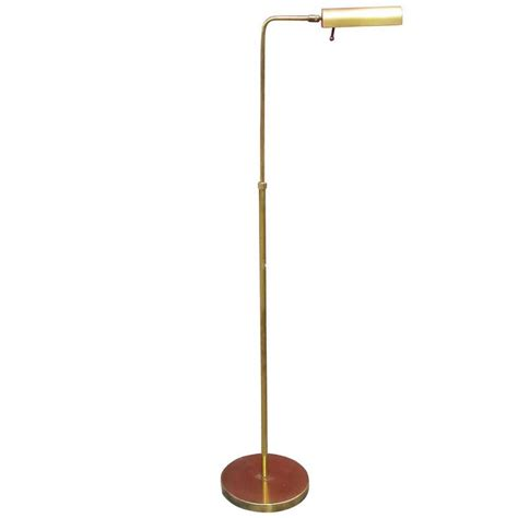 Brass Reading Floor L by Cylinder Form Brass Reading Floor L By Casella For Sale At 1stdibs