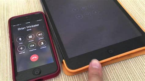 ios  iphone  ipad    ipad ringing    phone calls   ipad  ios