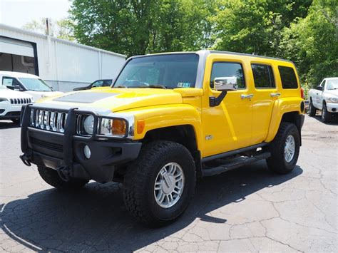 Used 2006 Hummer H3 Suv Greenville Pa 5gtdn136968311325