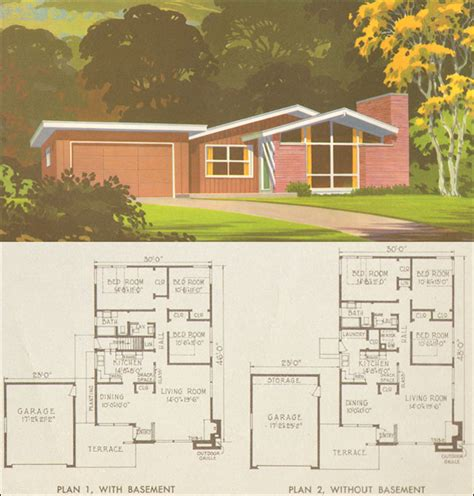 1950s ranch house plans house plans home designs