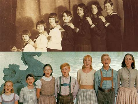 film actress family story photos see how quot the sound of music quot cast compares to the