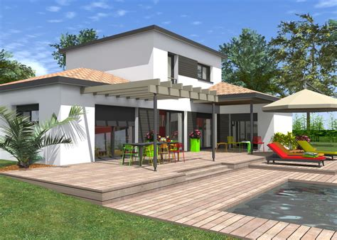 flhomeplan maison contemporaine 224 233 tage