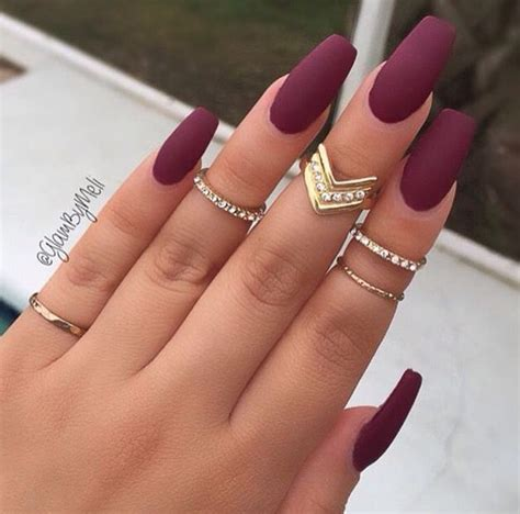 best manicure looks over 60 matte acrylic nails hot listings info