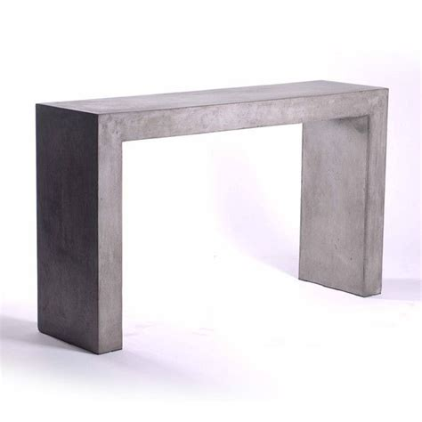 Concrete Console Table You Console