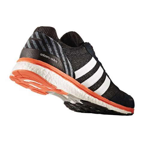 Adidas Orange Black adidas adizero adios mens orange black running sports