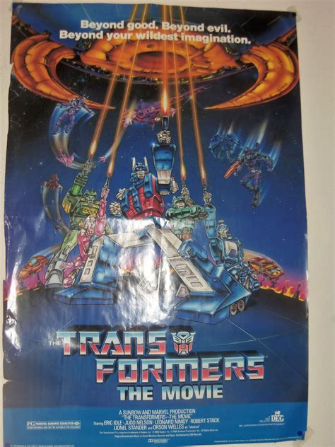 Transformers Movie 1986 Film My Transformers The Movie Poster 1986 By Bvw1979 On Deviantart