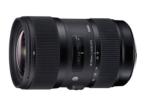 Sigma 18 35mm F1 8 Sigma Announces Fast 18 35mm F1 8 Dc Hsm For Aps C Dslrs Digital Photography Review