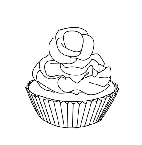 Coloring Pages Of Cakes And Cupcakes | 1126 best cakes and ice cream images on pinterest