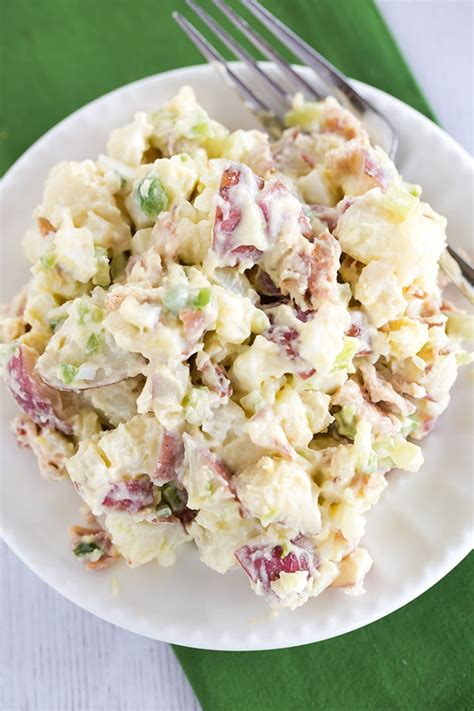 potato salad mustard potato salad with bacon
